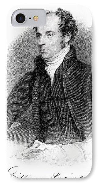 1840 William Swainson Naturalist Portrait IPhone Case by Paul D Stewart