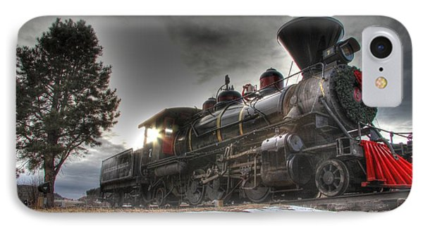 IPhone Case featuring the photograph 1880 Train by Bill Gabbert