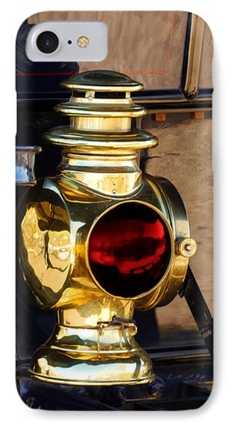 1910 Pope Hartford Model T Lamp IPhone Case by Jill Reger