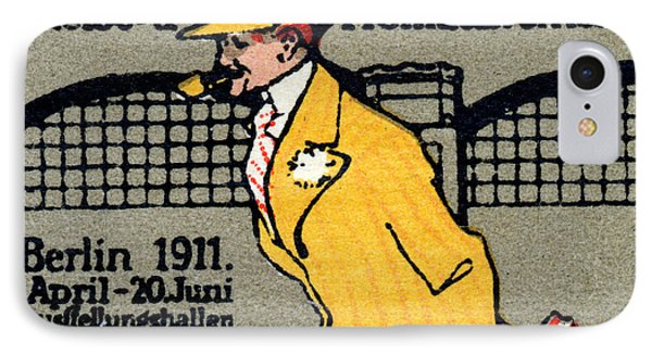 1911 Berlin International Travel Expo Phone Case by Historic Image