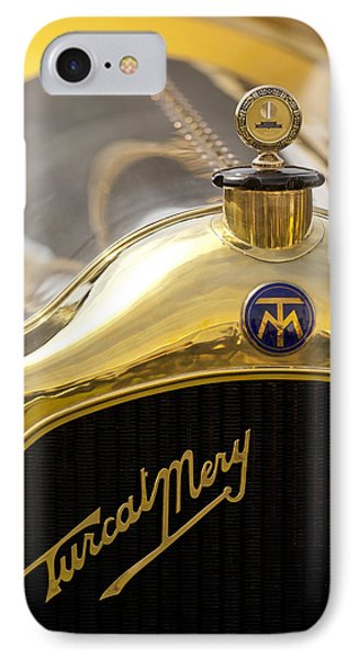 1913 Turcat-mery Mj Boulogne Torpedo Hood Ornament And Emblem Phone Case by Jill Reger