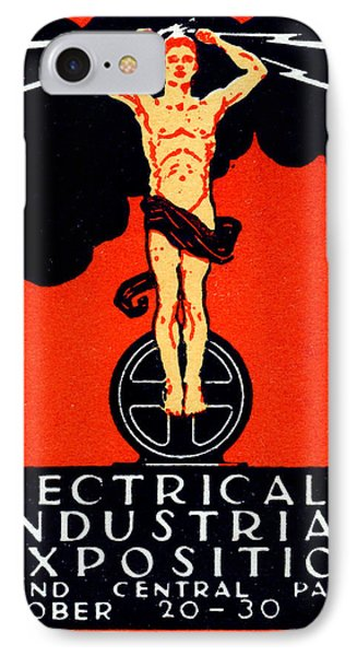 1926 New York City Electrical Industrial Exposition IPhone Case by Historic Image