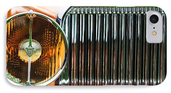 1933 Hispano-suiza J12 Vanvooren Coupe Grille Emblem IPhone Case by Jill Reger