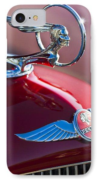 1933 Pontiac Hood Ornament 3 IPhone Case by Jill Reger