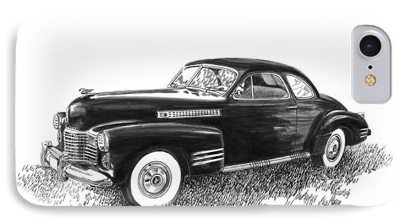 1941 Cadillac 62 Coupe IPhone Case by Jack Pumphrey