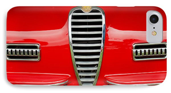 1949 Alfa Romeo 6c 2500 Ss Pininfarina Cabriolet Grille Phone Case by Jill Reger