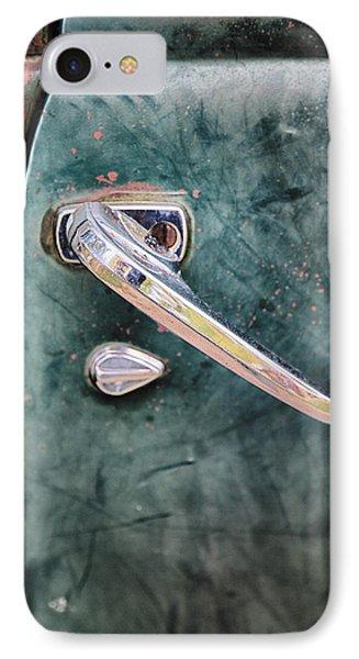 1950 Classic Chevy Pickup Door Handle IPhone Case by Adam Romanowicz