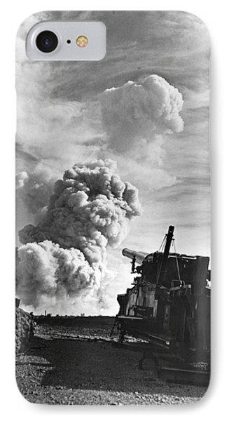 1950's Atomic Cannon Test IPhone Case by Underwood Archives