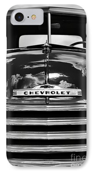 1951 Chevrolet Pickup Monochrome IPhone Case by Tim Gainey