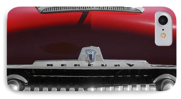 1954 Mercury Monterey Hood Ornament Phone Case by Jill Reger