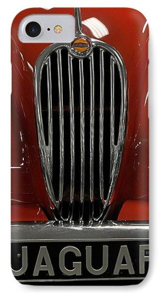 1957 Jaguar Xk 140 Mc Phone Case by Keith Gondron