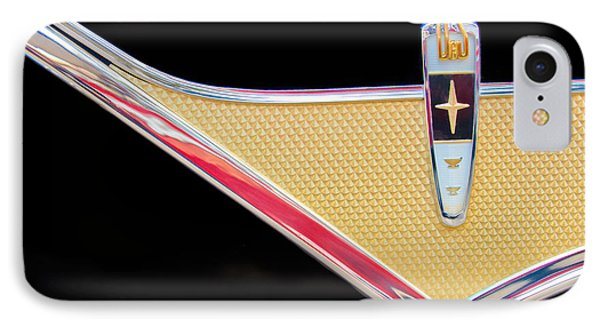 1959 Desoto Adventurer Emblem Phone Case by Jill Reger