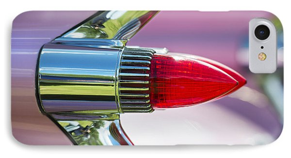 1959 Pink Cadillac Phone Case by Tim Gainey