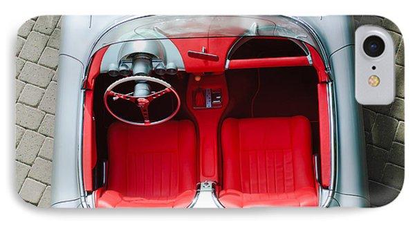 1960 Chevrolet Corvette Interior Phone Case by Jill Reger