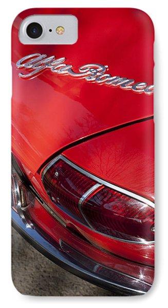 1969 Alfa Romeo 1750 Spider Taillight Emblem Phone Case by Jill Reger