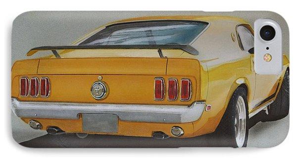 1970 Mustang Fastback Phone Case by Paul Kuras