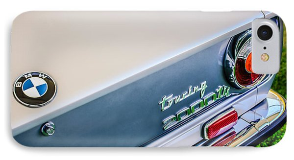 1972 Bmw 2000 Touring Tii Taillight Emblem -0159c IPhone Case by Jill Reger