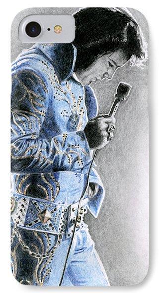 1972 Light Blue Wheat Suit IPhone 7 Case by Rob De Vries