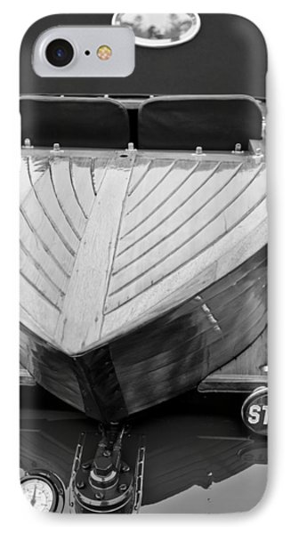 1914 Rolls-royce Silver Ghost Shapiro-schebera Skiff Rear End IPhone Case by Jill Reger