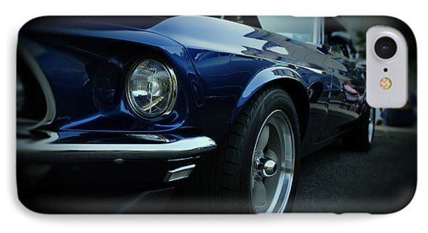 1969 Ford Mustang Mach 1 Fastback Phone Case by Paul Ward