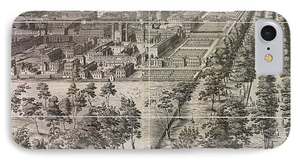 A Partial View Of The City Of London IPhone Case by British Library