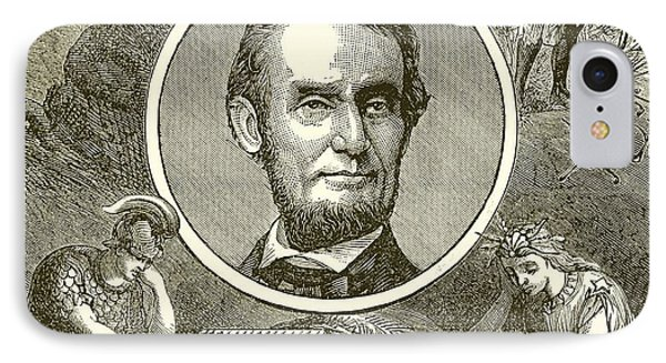 Abraham Lincoln IPhone Case by English School