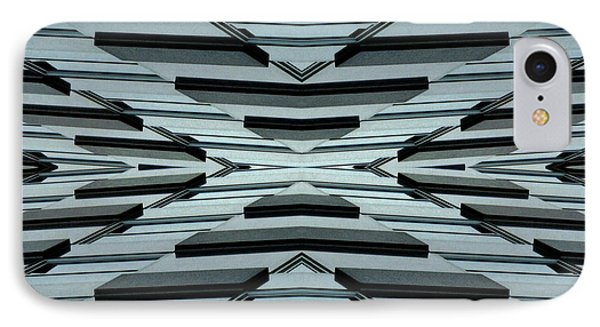 Abstract Buildings 3 Phone Case by J D Owen