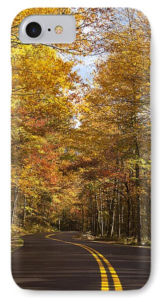Autumn Drive Phone Case by Andrew Soundarajan