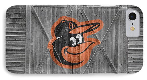 Baltimore Orioles IPhone 7 Case by Joe Hamilton