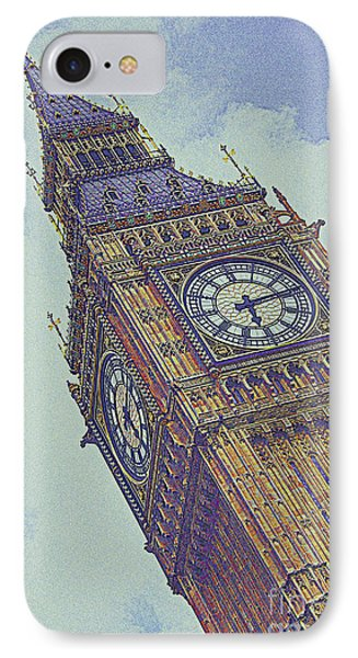 Big Ben In London IPhone Case by Celestial Images
