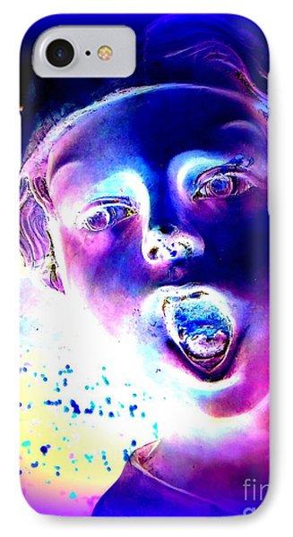 Blue Boy Phone Case by Ed Weidman