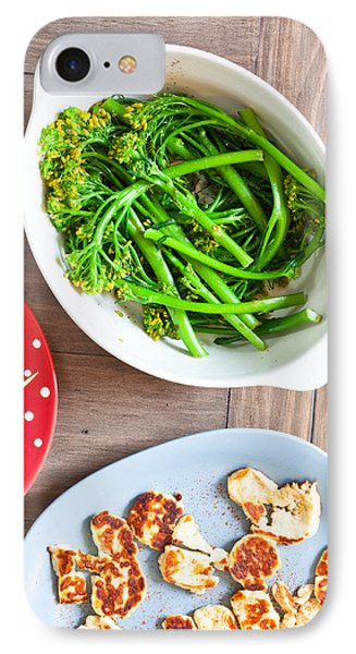 Broccoli Stems IPhone Case by Tom Gowanlock