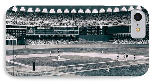 Busch Stadium - St Louis 1966 IPhone Case by Mountain Dreams
