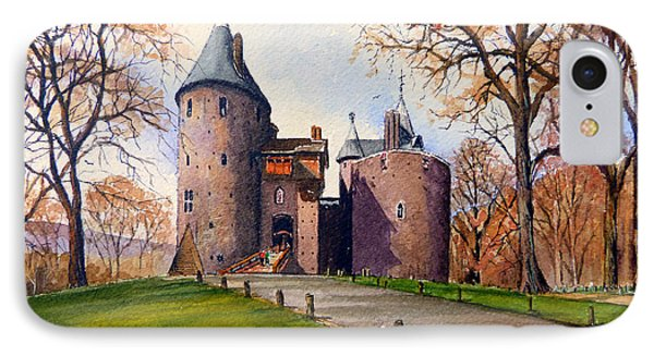 Castell Coch  Phone Case by Andrew Read