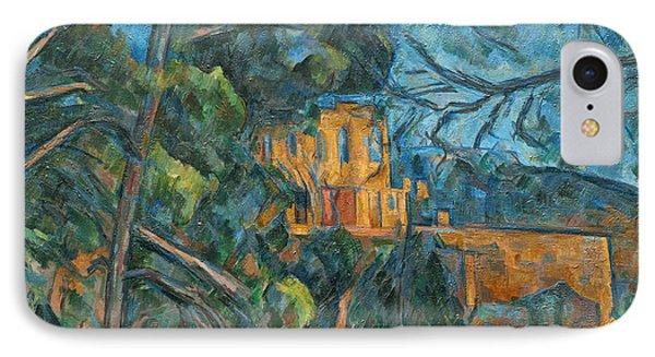 Chateau Noir Phone Case by Paul Cezanne