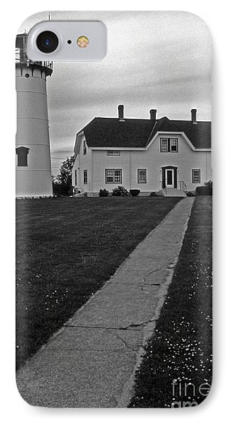 Chatham Lighthouse IPhone Case by Skip Willits