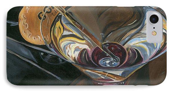 Chocolate Martini IPhone 7 Case by Debbie DeWitt