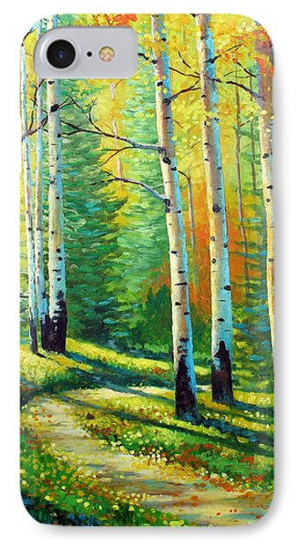 Colors Of The Season IPhone Case by David G Paul