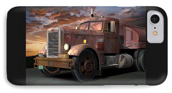 Duel Truck IPhone Case by Stuart Swartz