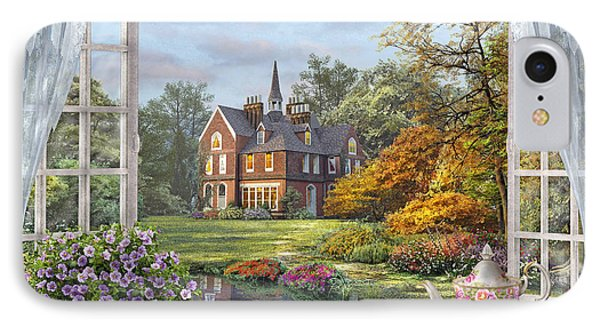 English Garden IPhone Case by Dominic Davison