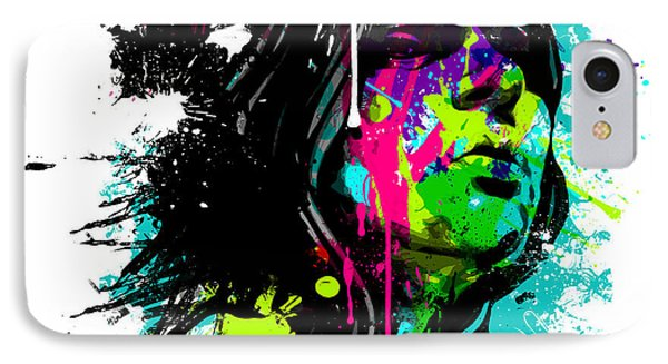 Face Paint 4 IPhone Case by Jeremy Scott