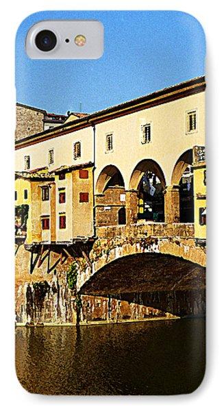 Florence Italy Ponte Vecchio Phone Case by Irina Sztukowski