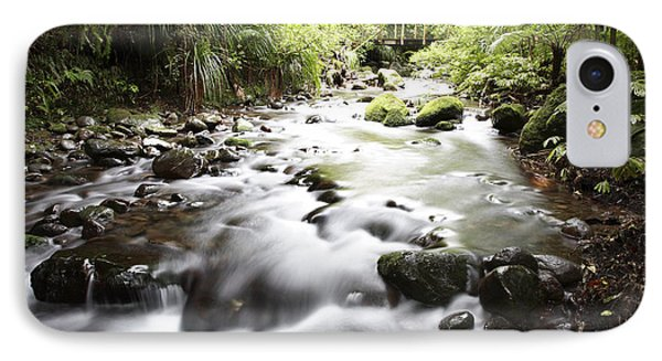 Forest Stream Phone Case by Les Cunliffe