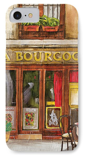 French Storefront 1 Phone Case by Debbie DeWitt