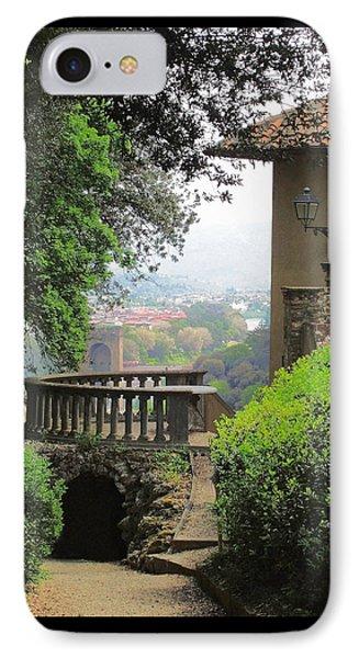 Garden View IPhone Case by Ellen Henneke