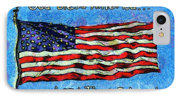 God Bless America  Phone Case by Barbara Snyder
