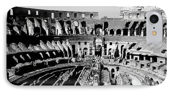 High Angle View Of Tourists In An IPhone Case by Panoramic Images