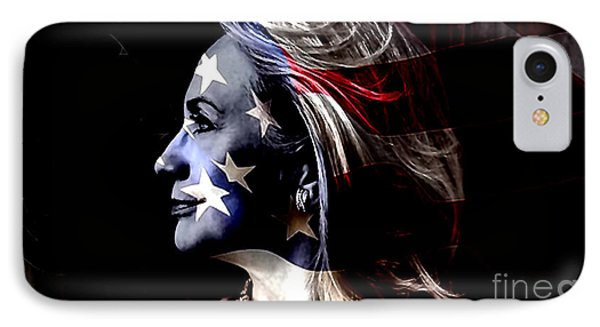 Hillary 2016 Phone Case by Marvin Blaine