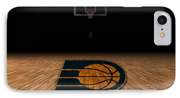 Indiana Pacers IPhone Case by Joe Hamilton