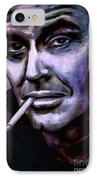 Jack Nicholson IPhone Case by Andrzej Szczerski